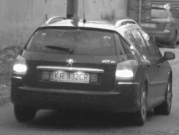 Example of successfully recognized license plate number